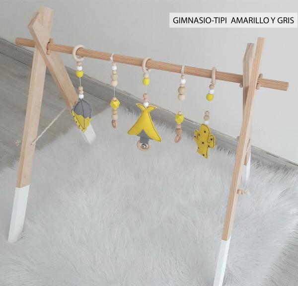 GIMNASIO TIPI AMARILLO Y GRIS