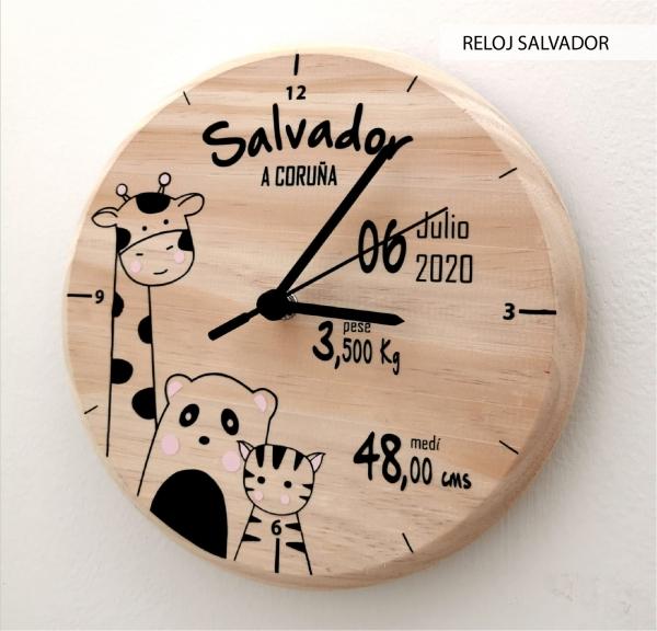 RELOJ SALVADOR